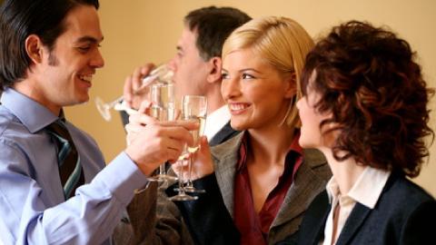 Alcool et pot de fin d'année, peut-on boire ?